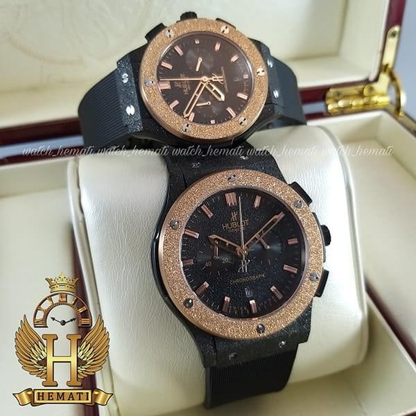 خرید ، قیمت ، مشخصات ساعت ست زنانه و مردانه Hublot BB60098 بیگ بنگ دورقاب شنی