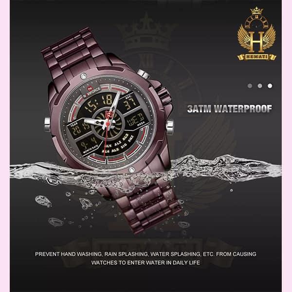 قیمت ساعت مردانه نیوی فورس دو زمانه مدل naviforce nf9170m کافی