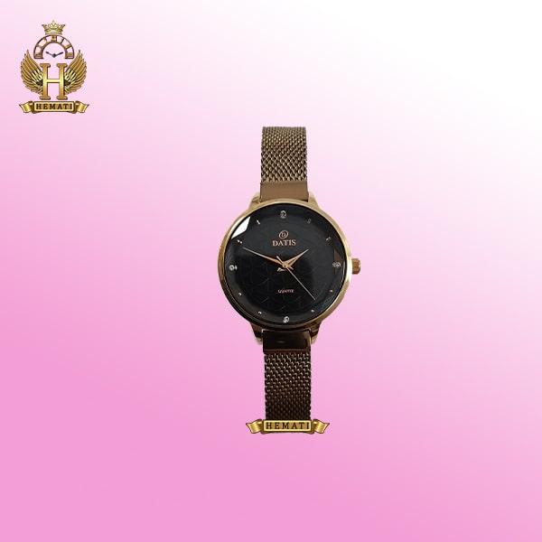 خرید ساعت زنانه داتیس اورجینال مدل DATIS D8410L بند حصیری