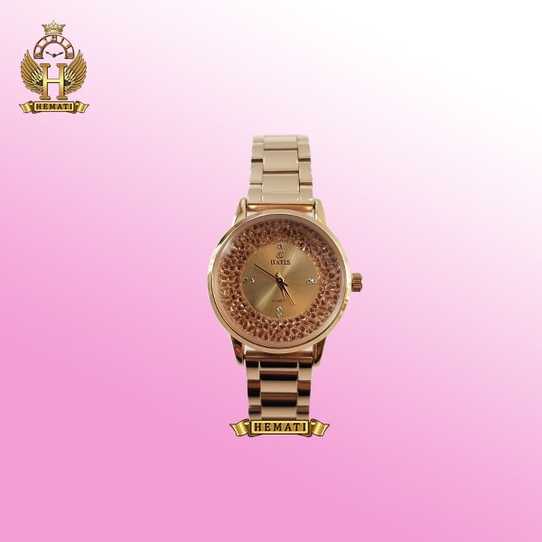 ساعت زنانه داتیس مدل D8417CL رزگلد اصلی