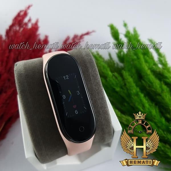 خرید ارزان دستبند سلامت SMART BERACELET M5 2020 صورتی