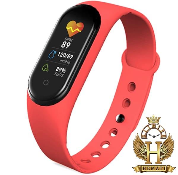 خرید اینترنتی دستبند سلامت SMART BERACELET M5 2020 قرمز
