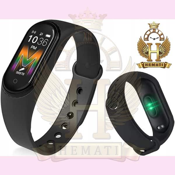 خرید انلاین دستبند سلامت SMART BERACELET M5 2020 تمام مشکی