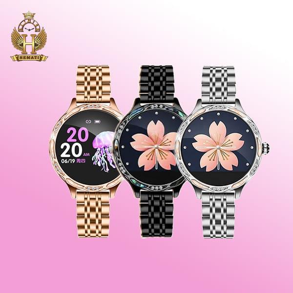 خرید اینترنتی ساعت هوشمند مدل SMART WATCH M9 در رنگبندی رزگلد ، مشکی ، نقره ای