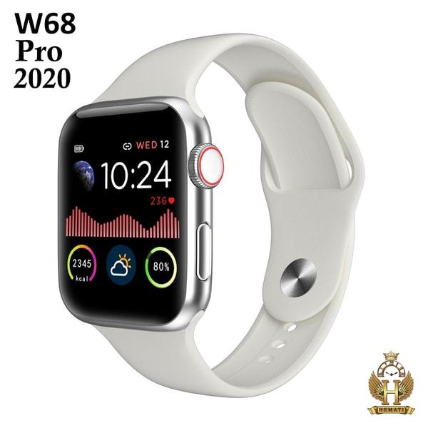 اسمارت واچ W68 2020 سفید