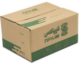 بسته بندی کارتن شرکت تیپاکس