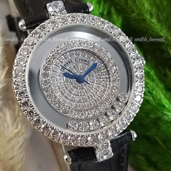 خرید ، قیمت ، مشخصات ساعت زنانه رویال کرون مدل 3628 نگین دار