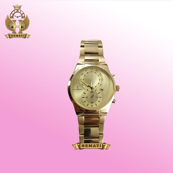 ساعت کلبرت مردانه مدل 044M به رنگ طلایی