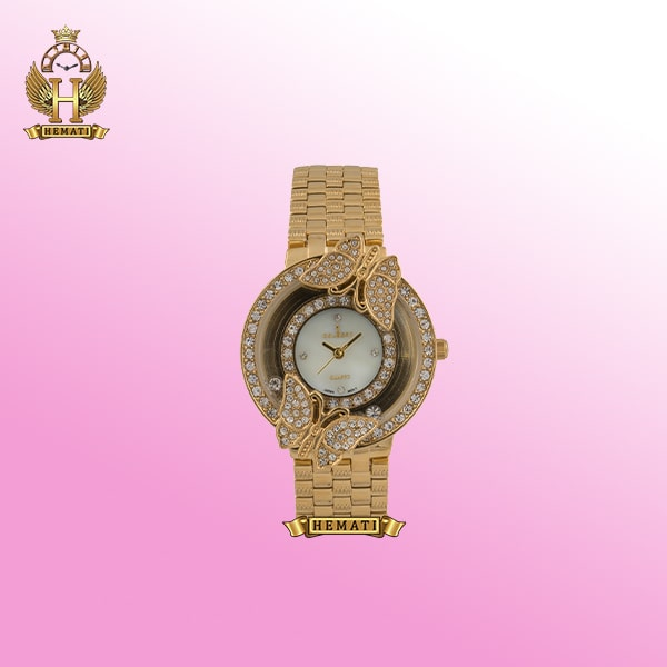 ساعت کلبرت زنانه مدل 084L طلایی