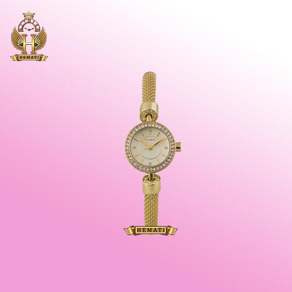 ساعت مچی زنانه کلبرت مدل 099L طلایی