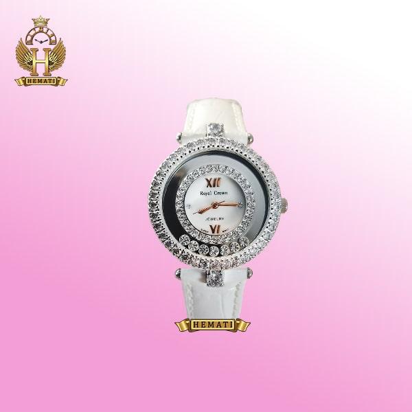 خرید ساعت زنانه رویال کرون 3628 صفحه صدفی