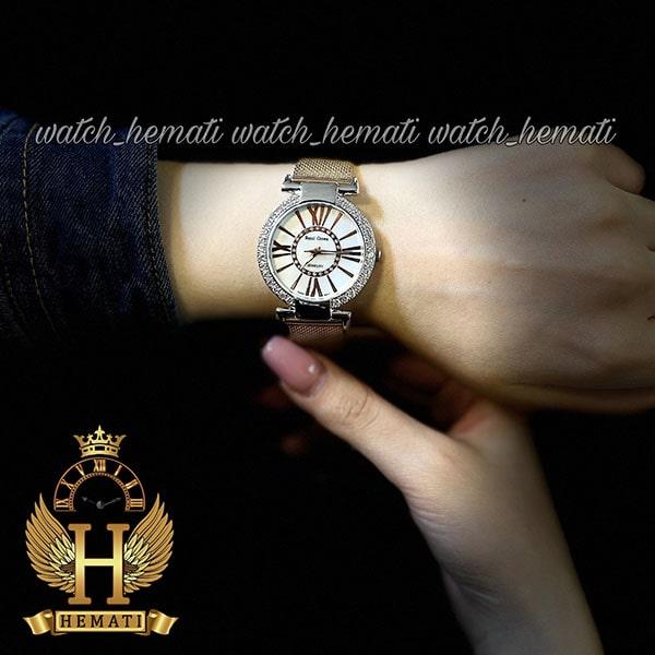 خرید ، قیمت ، مشخصات ساعت زنانه رویال کرون مدل 6116 نگین دار دارای بند قابل تعویض