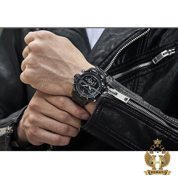 خرید ، قیمت ، مشخصات ساعت مردانه نیوی فورس مدل naviforce nf9133m مشکی