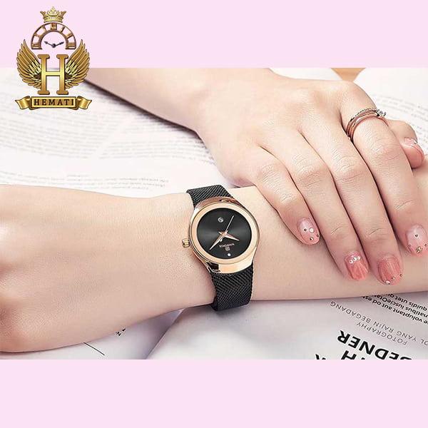 قیمت ساعت زنانه نیوی فورس مدل nf5004l مشکی رزگلد