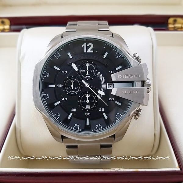 خرید انلاین ساعتمردانه دیزل نقره ای dz-4315