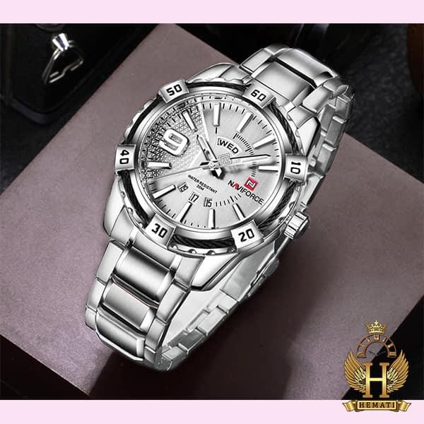 خرید ساعت مردانه نیوی فورس مدل naviforce nf9117m مشکی رزگلد