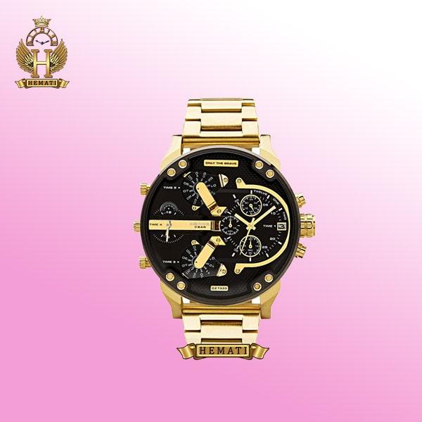 ساعت مردانه طلایی هایکپی دیزل Diesel