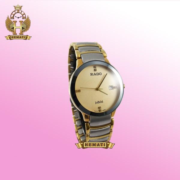 ساعت مردانه رادو دیا استار جوبیل Rado Diastar Jubile RDM100 نقره ای-طلایی ، های کپی