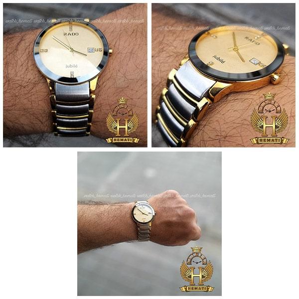 خرید اینترنتی ساعت مردانه رادو دیا استار جوبیل Rado Diastar Jubile RDM100 نقره ای-طلایی ، های کپی