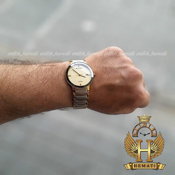 خرید ، قیمت ، مشخصات ساعت مردانه رادو دیا استار جوبیل Rado Diastar Jubile RDM100 نقره ای-طلایی ، های کپی