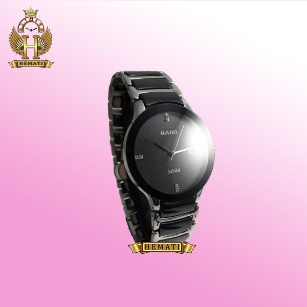 خرید ، قیمت ، مشخصات ساعت مردانه رادو دیا استار جوبیل Rado Diastar Jubile RDM104 نقره ای-مشکی ، کیفیت های کپی