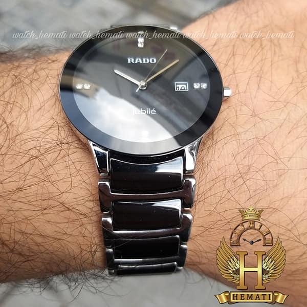 ساعت مردانه رادو دیا استار جوبیل Rado Diastar Jubile RDM104 نقره ای-مشکی ، کیفیت های کپی