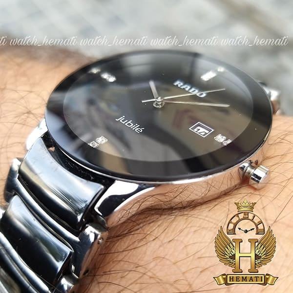 خرید ارزان ساعت مردانه رادو دیا استار جوبیل Rado Diastar Jubile RDM104 نقره ای-مشکی ، کیفیت های کپی