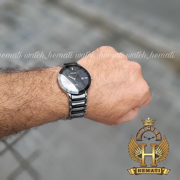 خرید اینترنتی ساعت مردانه رادو دیا استار جوبیل Rado Diastar Jubile RDM104 نقره ای-مشکی ، کیفیت های کپی