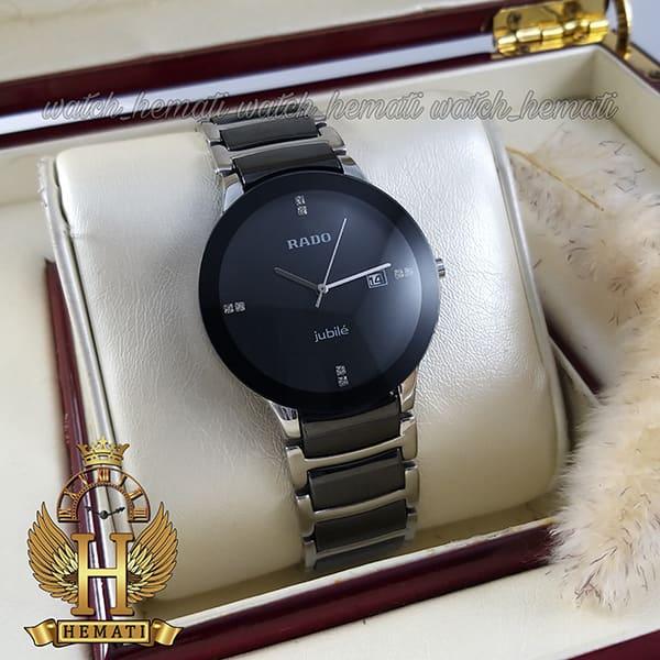 خرید انلاین ساعت مردانه رادو دیا استار جوبیل Rado Diastar Jubile RDM104 نقره ای-مشکی ، کیفیت های کپی