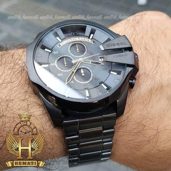 خرید انلاین ساعت دیزل شاخدار دودی dz-4466