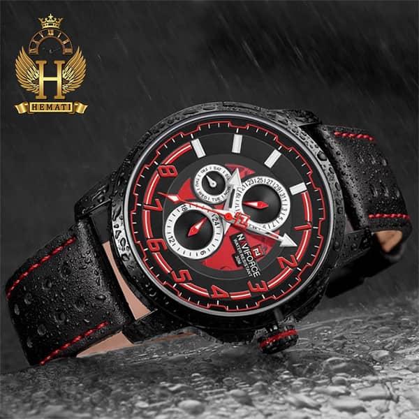 مشخصات ساعت مردانه نیوی فورس مدل naviforce nf9142m مشکی قرمز