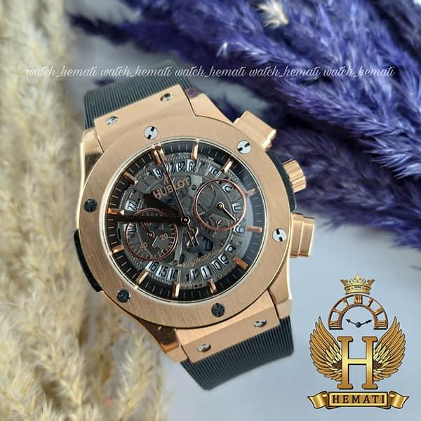 خرید ، قیمت ، مشخصات ساعت هابلوت زنانه مدل بیگ بنگ Big Bang HU3AL200رزگلد سه موتوره