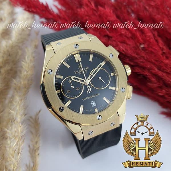 مشخصات ساعت زنانه هابلوت بیگ بنگ مدل Hublot Big Bang HU3L108 سه موتوره طلایی
