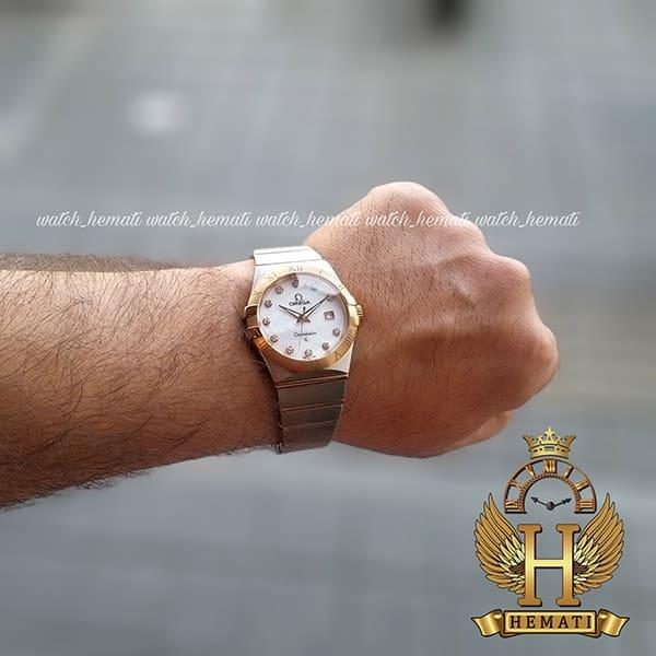 خرید ساعت مچی مردانه امگا کانستلیشن 90923877 نقره ای-رزگلد
