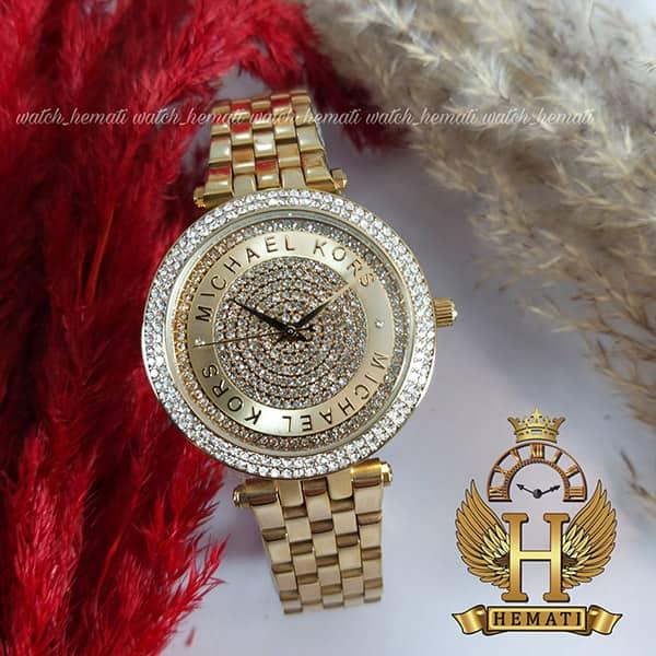 خرید ، قیمت ، مشخصات ساعت زنانه Michael Kors MK3445 تمام طلایی