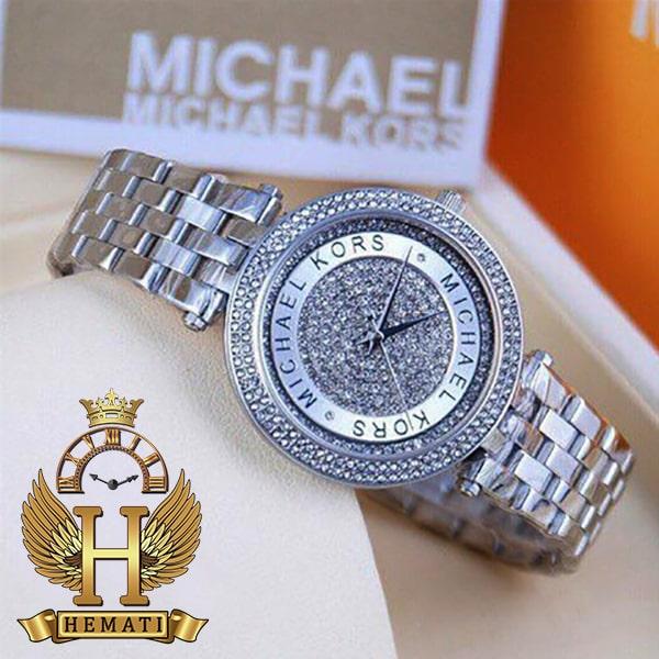 خرید ساعت مچی زنانه مایکل کورس MK3476 نقره ای هایکپی نقره ای