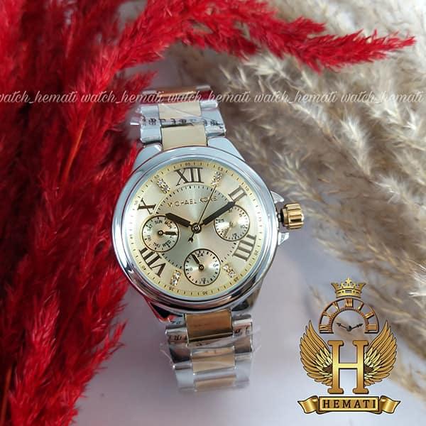 خرید ، قیمت ، مشخصات ساعت زنانه مایکل کورس MK5760 نقره ای-طلایی