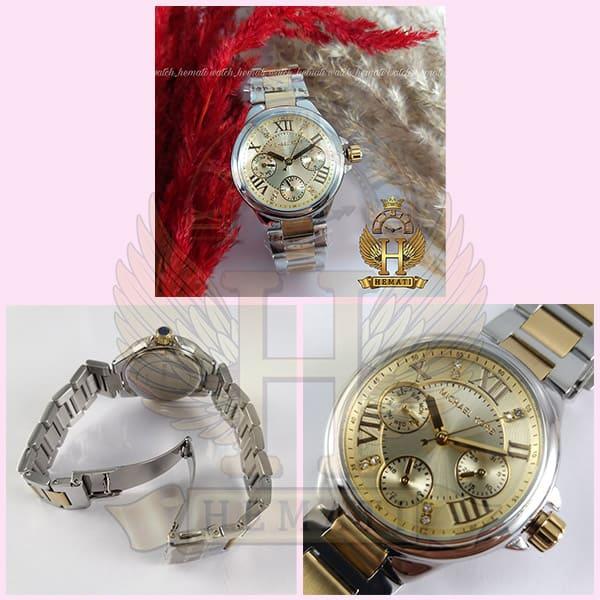 خرید ارزان ساعت زنانه مایکل کورس MK5760 نقره ای-طلایی