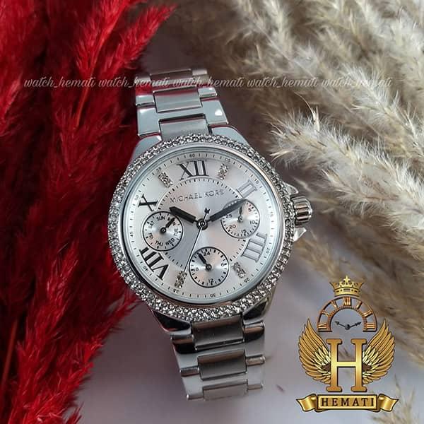 خرید ، قیمت ، مشخصات ساعت زنانه مایکل کرس Mk5760 نقره ای