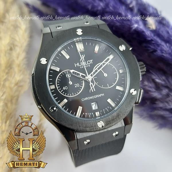 خرید ، قیمت ، مشخصات ساعت زنانه هابلوت بیگ بنگ Hublot Big Bang HU3L101 رنگ مشکی سه موتوره