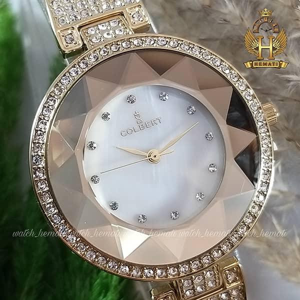 خرید ساعت مچی زنانه کلبرت COLBERT 007L رنگ طلایی