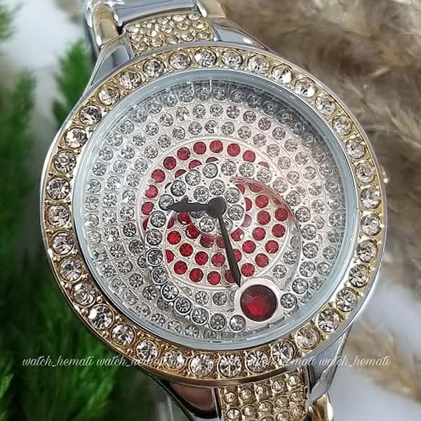 خرید ، قیمت ، مشخصات ساعت اورجینال زنانه کلبرت 010L به رنگ نقره ای-طلایی