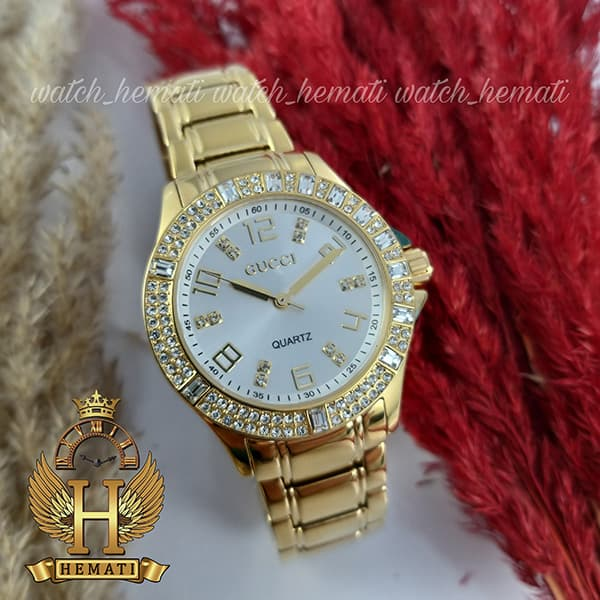 خرید ساعت زنانه گوچی GUCCI 13059L طلایی