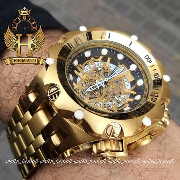 خرید ساعت اینویکتا طلایی