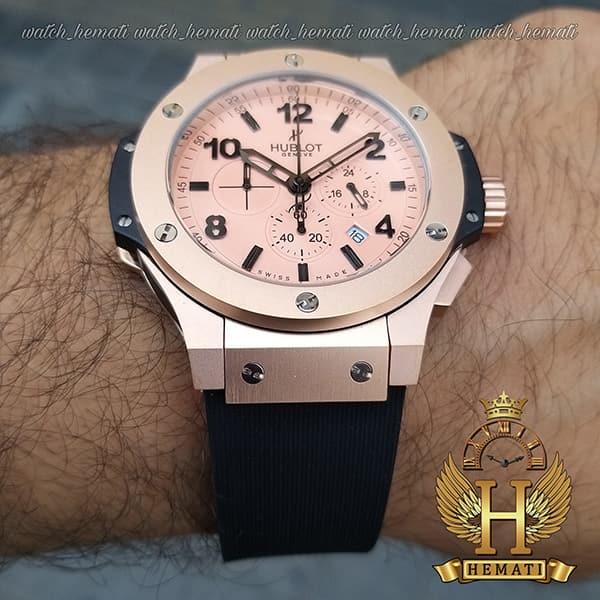 خرید انلاین ساعت هابلوت مردانه بیگ بنگ HU3M203 قاب رزگلد ،سه موتوره