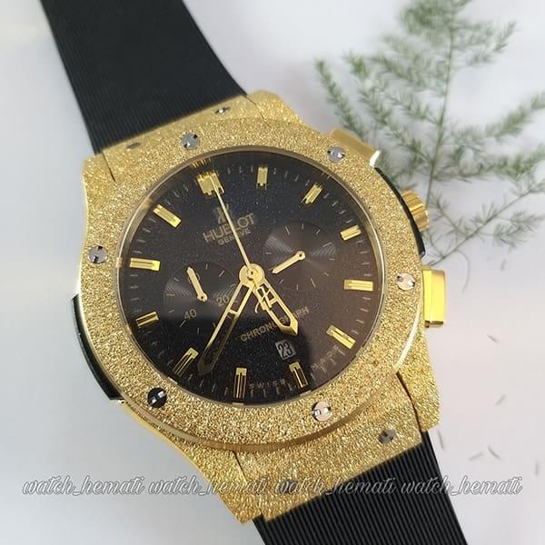 ساعت مردانه هابلوت مدل HU3MM101 بیگ بنگ دورقاب شنی