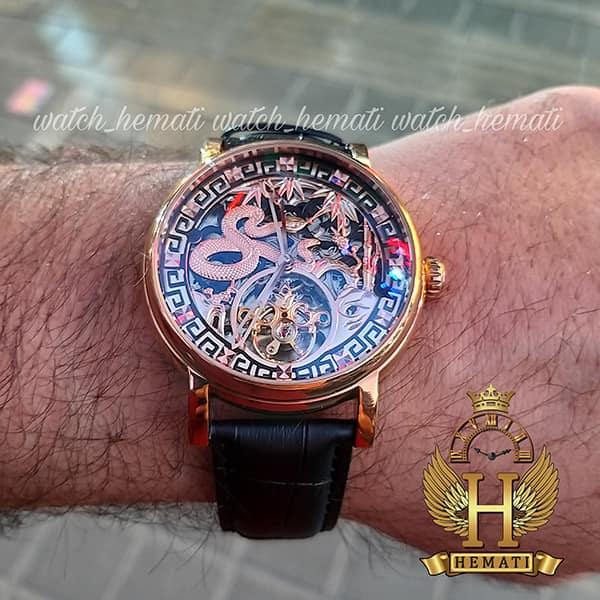 خرید ، قیمت ، مشخصات ساعت مردانه پتک فیلیپ اتوماتیک Patek Philippe PP5052 صفحه اسکلتون طرح اژدها