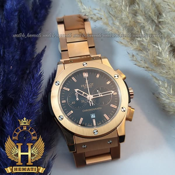 خرید ، قیمت ، مشخصات ساعت مردانه هابلوت Hublot HU3M100 رزگلد