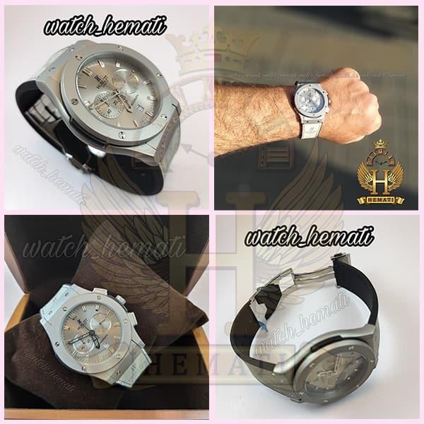 خرید انلاین ساعت مردانه هابلوت بیگ بنگ Hublot Big Bang HU3M113 طوسی