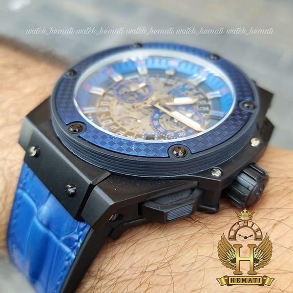 ساعت هابلوت خاص مردانه مدل بیگ بنگ Big Bang BB7070 مشکی و آبی
